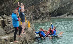 Raft Racers Raise Funds for Bude Sea Pool