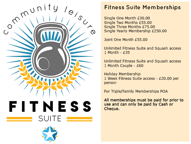Fitness Suite Information