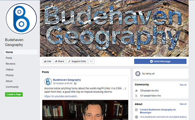Budehaven geography on facebook